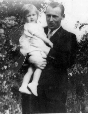 Wilson with his daughter