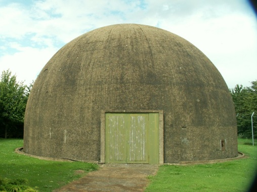The gunnery dome at Wyton