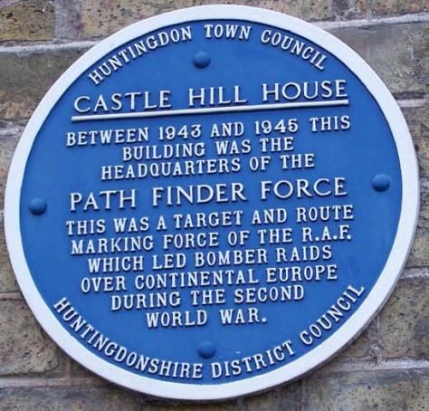 PFS Plaque - Castle Hill House