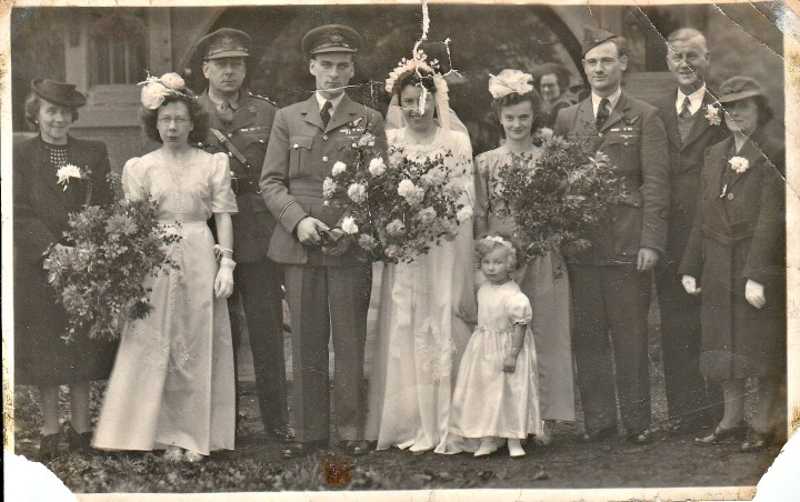 Riches, Ted Pack Wedding 1945 Improved Version