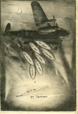 Brown, Kenneth, raid card Milan