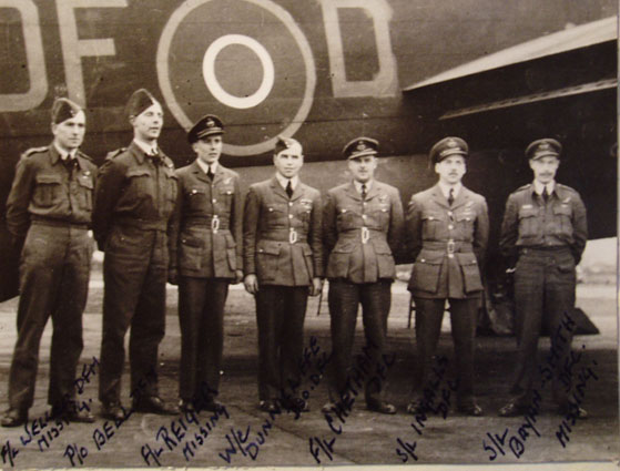 Dunnicliffe Crew, March 1944
