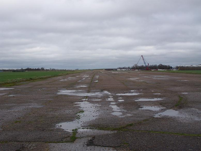 Bourn runway NE-SW